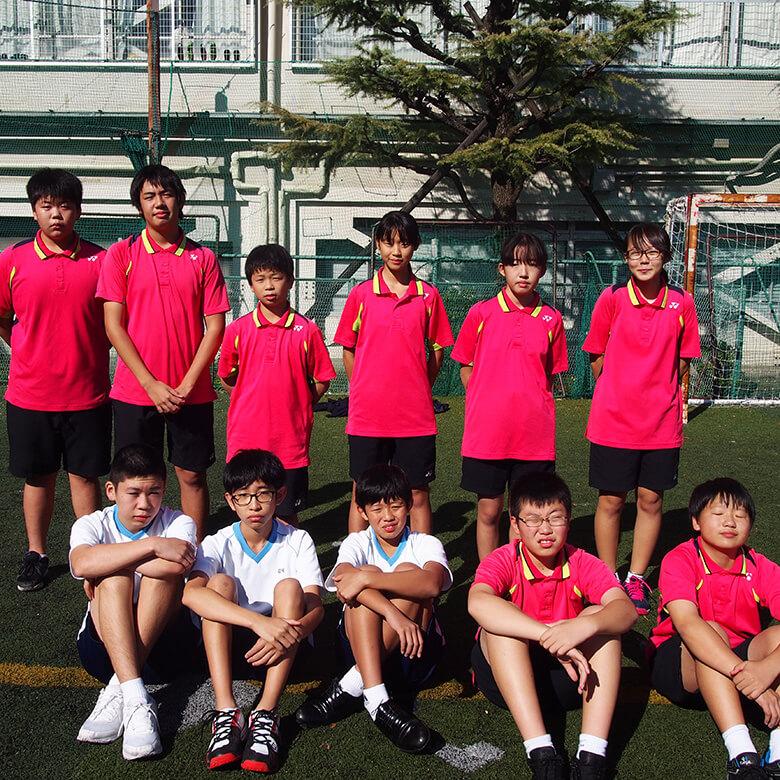 硬式テニス部(中学)